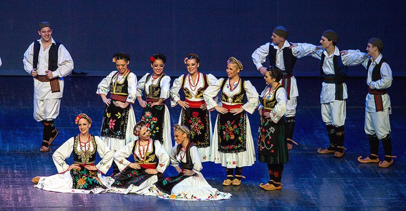 Serbian folklore evening